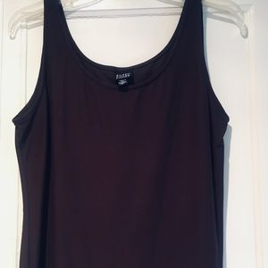 Eileen Fisher Brown Tank Top. Size small